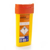 Orange sharps container – 0.6 litre