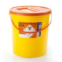 22ltr orange sharps bin