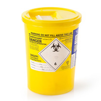 Yellow sharps container – 3.75 litre