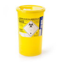 Yellow sharps container – 5 litre