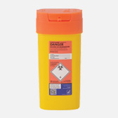 Orange sharps bin 0.6l