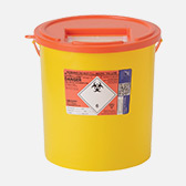 Orange Sharps Bin