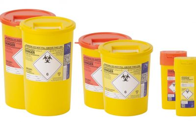 Dispose of Sharps Containers