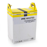 Yellow Clinical Incineration Bins