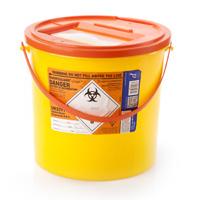 Orange Sharps Container - 11.5 Litres