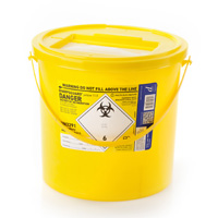 Yellow Sharps Container - 11.5 Litres